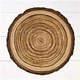 Hester & Cook Die-Cut Wood Slice Paper Placemat