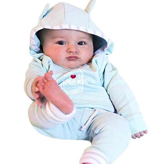 Amazoncom Kids Toddler Winter Clothes Newborn Baby Boy Hoodie With