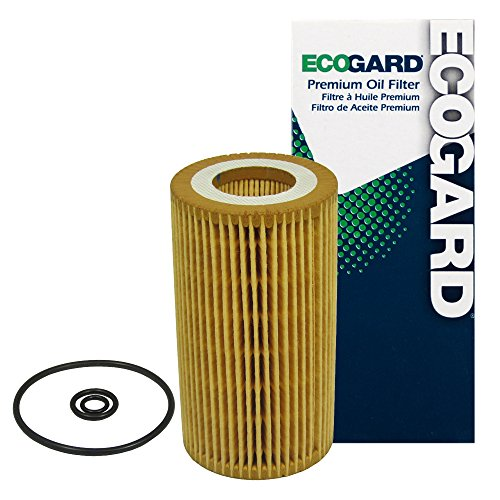 ECOGARD X5536 Cartridge Engine Oil Filter for Conventional Oil - Premium Replacement Fits Dodge Sprinter 2500, Sprinter 3500 / Freightliner Sprinter 2500, Sprinter 3500 (Sprinter Freightliner 2002)