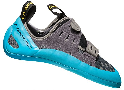 La Sportiva Mutant Trail-schoenen Voor Dames Trail - Ss18 Geckogym Carbon / Tropic Blue Talla: 45