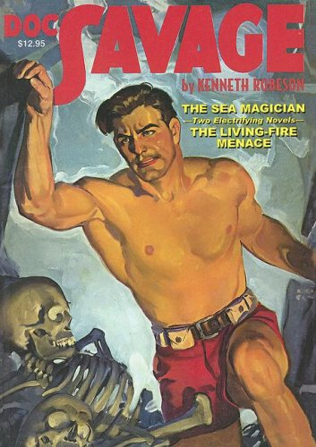 Download Doc Savage: The Sea Magician / The Living-Fire Menace (Doc Savage (Nostalgia Ventures)) pdf epub