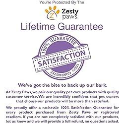 Zesty Paws Pet Stain & Odor Remover, Carpet Spot Cleaner & Odor Eliminator for Dogs & Cats, Works On Carpet, Hardwood Floors, Fabric, Tile & More, Cleans Pet Urine, Feces, Vomit & Food, 32 oz Spray