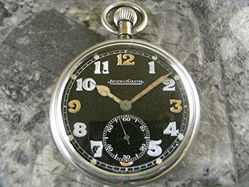 [ジャガールクルト] Jaeger-LeCoultre アンティーク 懐中時計 ミリタリー コブラハンド スモセコ 並行輸入品 B00HPS6JMI