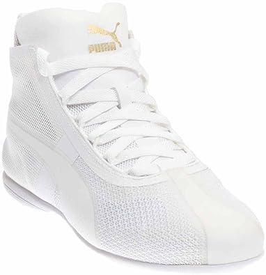 Women's Sneakers/puma white gold eskiva evo puma mt7v40m9