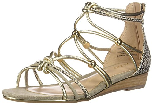 Gold Women's Fashion MURIELE Aldo Sandals 4T0Hw64q