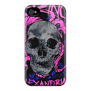 Acsdcover Cases Covers For Iphone 4/4s - Retailer Packaging Asking Alexandria Protective Cases