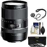 Tamron 16-300mm f/3.5-6.3 Di II PZD Macro Zoom Lens UV/CPL/ND8 Filters + Kit Sony Alpha A-Mount Digital SLR Cameras