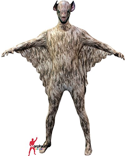 "Official Vampire Bat Morphsuit Fancy Dress Costume - size Large - 5""5-5""9 (163cm-175cm) (Animal Morph Suits)"