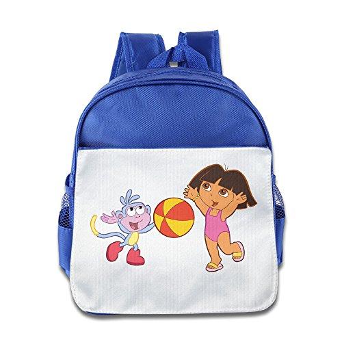 KIDDOS Infant Toddler Kids US Educational Animated TV Series Backpack Satchel School Book Bag, RoyalBlue