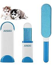 Aiskki Anti-Poils Brosse de Nettoyage, Magique Pet Panier Réutilisable pour Enlever Les Poils d'animaux de Compagnie, Brosse de Taille Voyage