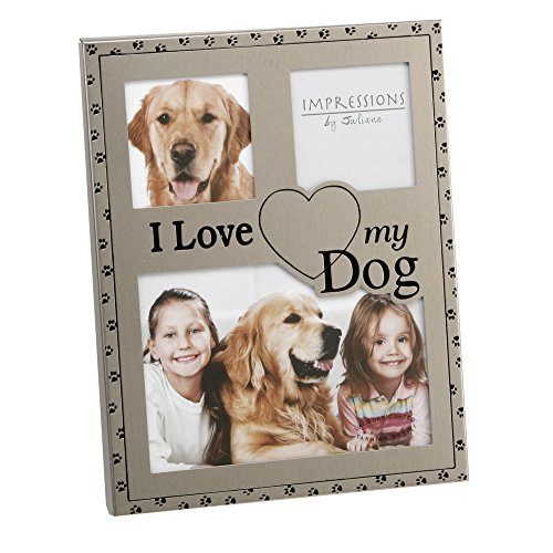 Impressions I Love My Dog Photo Frame (Frame My Dog Picture Love I)