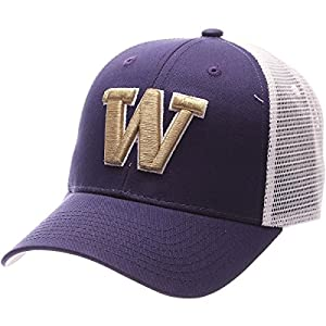 Zephyr WASHINGTON HUSKIES BIG RIG ADJUSTABLE HAT by Zephyr 1049662