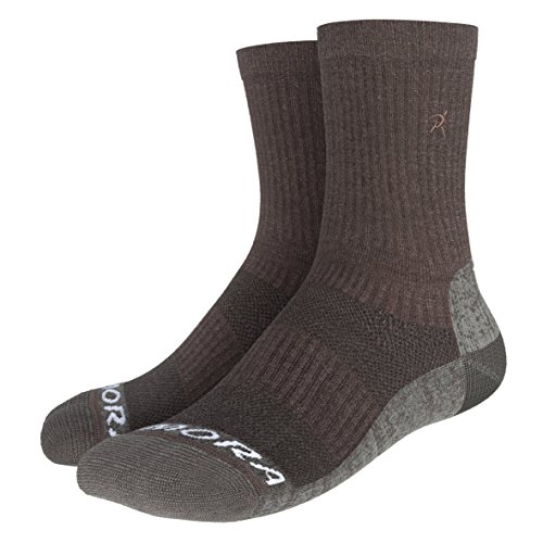 - Rymora Merino Wool Hiking Socks (for Men and Women, Seamless Toe Construction, Moisture Wicking) (One Pair) (Small: Men 4-7.5 / Women 5-8.5)