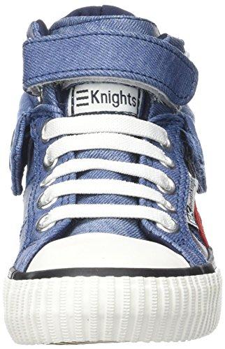 British Knights Jungen Roco Hohe Sneaker Blau (Blue)