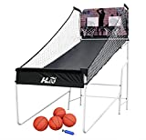 HLC Sports Double Electric Basketsball Shot 8-in-1 Two-player Arcade Electronic Basketball System