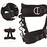Climbing Harness Safe Seat Belt for Fire Rescue High...