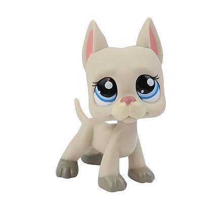 Pet Shop juguetes LPS raras de pie forma máscara de gato de pelo corto (elegir