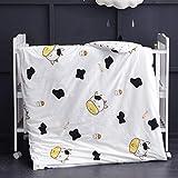 MEJU Cow Milk Bottle 100% Cotton Duvet Cover