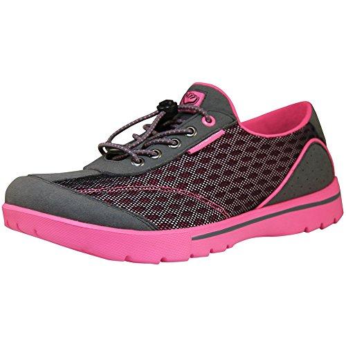 Skuze Unisex Miami Shoes Charcoal/Rose owIhz3
