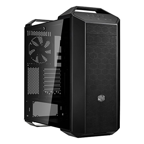MasterCase MC500 Mid-Tower ATX Case w/FreeForm Modular, Tempered Glass Side Panel, Handles, Radiator (Panel Handle)