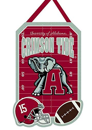 Team Sports America Alabama Crimson Tide Outdoor Safe Felt Door (Alabama Crimson Tide Ribbon)