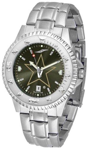 Linkswalker Mens Vanderbilt Commodores Competitor Steel Anochrome Watch