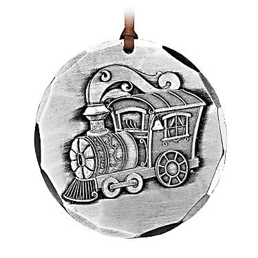 Wendell August All Aboard Train Ornament