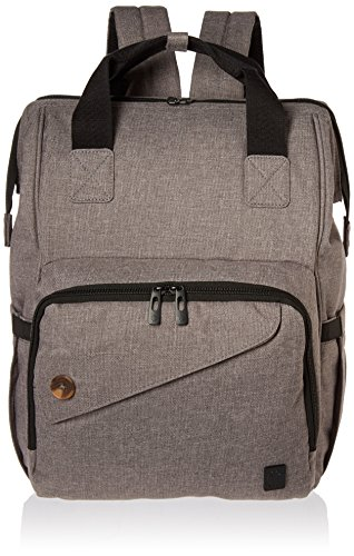 Backpack Diaper Bag Wide Open Design with Stroller Straps Changing Pad & Insulated Pockets for Both Mom & Dad...