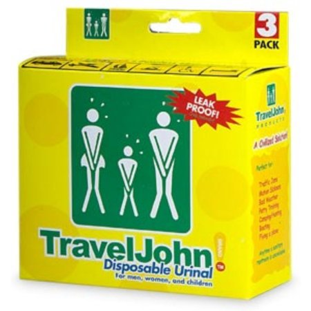 John Boos TravelJohn Disposable Urinal for Men Women & Ch...