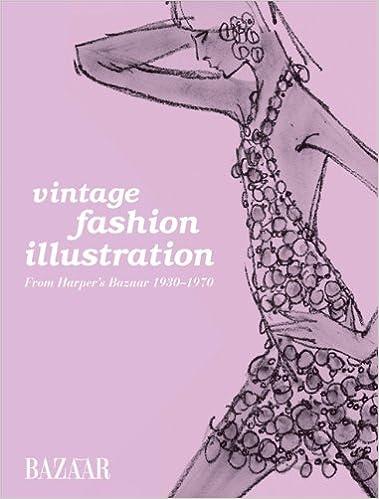 Vintage Fashion Illustration From Harper\u0027s Bazaar 1930