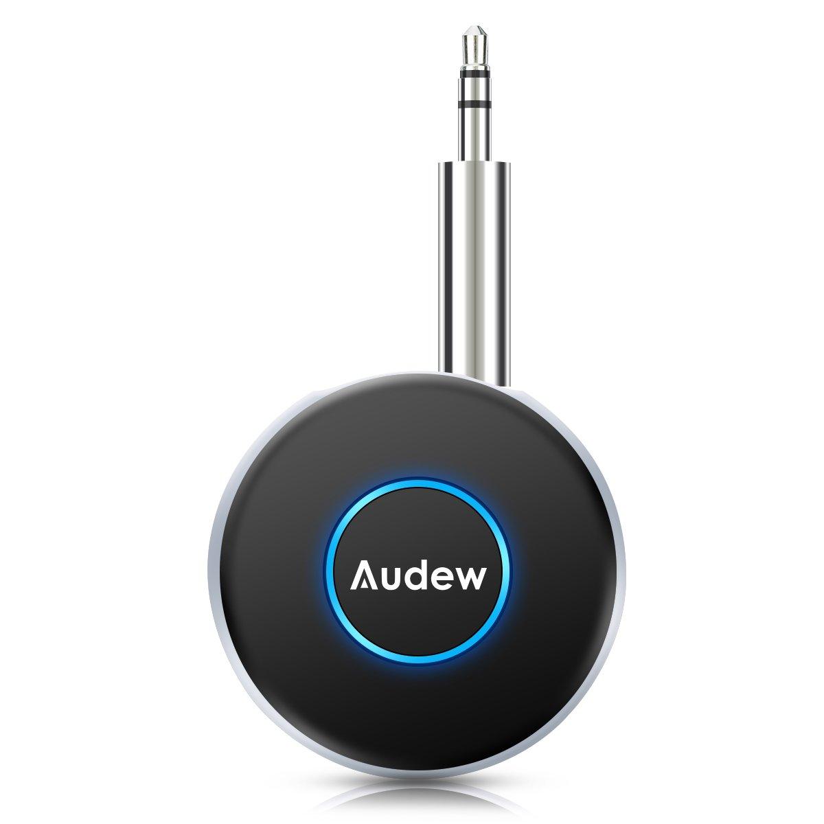 AUDEW Bluetoothレシーバー オーディオレシーバー ワイヤレス受信機:タイムセール特価15%割引