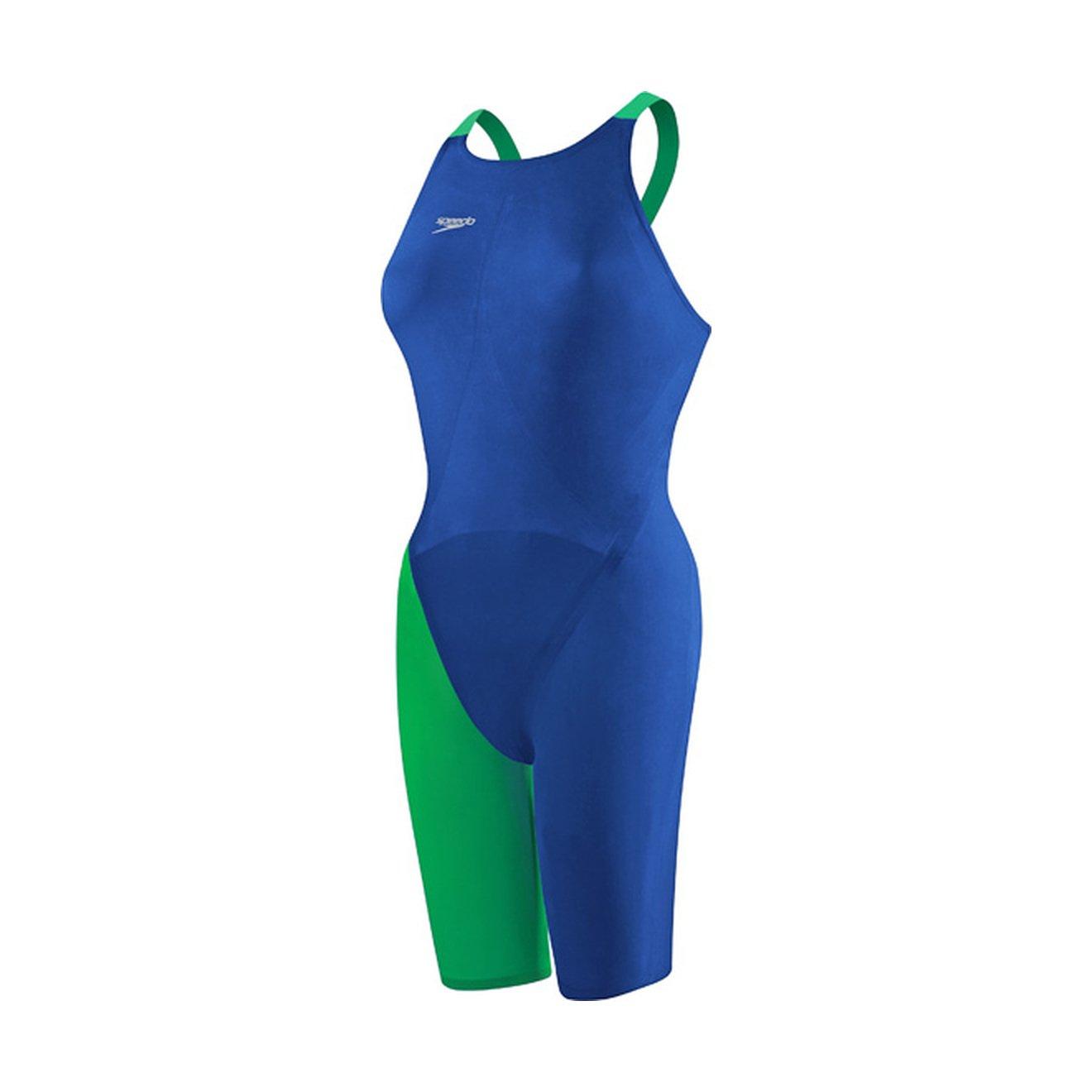 Speedo 7190722レディースLZRエリート2 Closed Back Swimsuit B016R9CPUK ブルー/グリーン 25 25 ブルー/グリーン