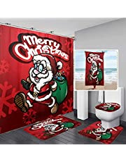 YRIGSUN 5 Pcs Glasses Wine Grapes Valentines Shower Curtain Set with Rugs and Bath Towel, Include Non-Slip Rugs, Toilet Lid Cover and Bath Mat, Wine Shower Curtain Sets Brown Black