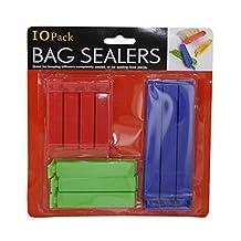 Home Kitchen Dinning Indoor Household Accessories Bag Sealer Set 12 Pack