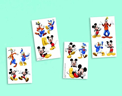 amscan-disneymickey-mouse-birthday-party-temporary-tattoos-favor-16-pack-2-x-2-multicolor