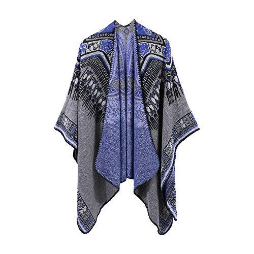 Ponchos Mode Châle Pull Manteau Cardigans Holywin Glands Cachemire Femmes B Tricotés En fqxUw08