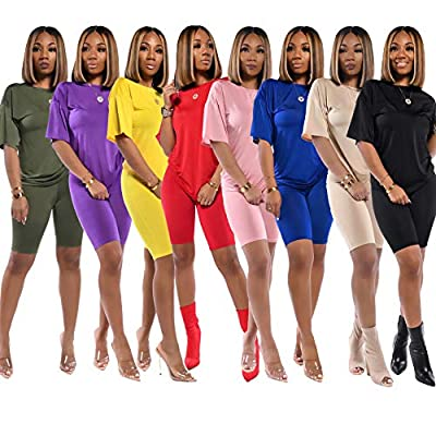 Women's 2 Piece Outfits - Lips/Finger Heart Sweatsuits Long Sleeve Pullover Sweatshirts Skinny Long Pants Tracksuit Set at Women's Clothing store