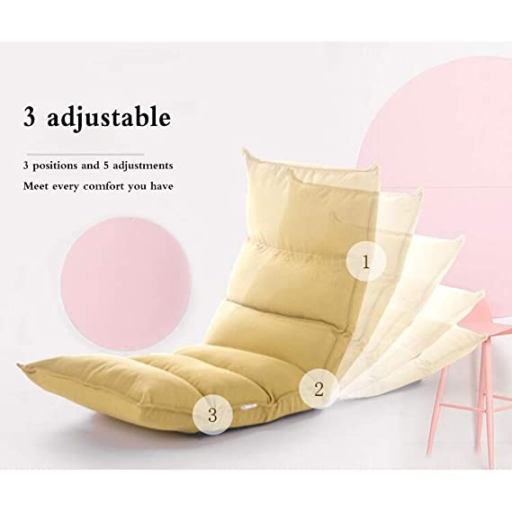 Amazon.com: LJFYXZ Silla plegable acolchada para el suelo ...