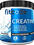 Fitcode Creatine Monohydrate 5 Grams of Pure micronized creatine monohydrate for Muscle Building, Recovery Strength & Stamina, unflavored Powder 60 Servings