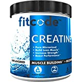 Fitcode Creatine Monohydrate 5 Grams of Pure micronized creatine monohydrate for Muscle Building, Recovery Strength & Stamina