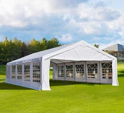 Peaktop® 32u0027 X20u0027 Heavy Duty Carport Party Wedding Tent Car Shelter Canopy Gazebo & Amazon.com: Peaktop® 32u0027 X20u0027 Heavy Duty Carport Party Wedding ...