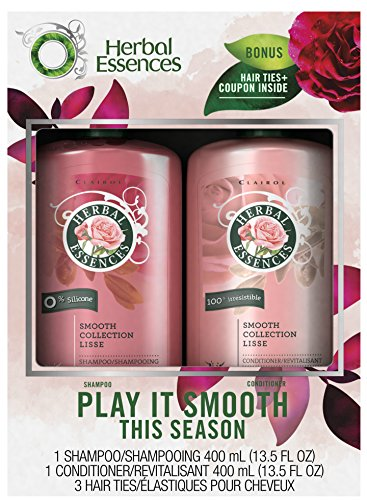 Herbal Rose Shampoo - Herbal Essences Classic Smooth Holiday Pack