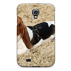 AniamlCaseZone OPW7613PSKI Protective Case For Galaxy S4(the Lazy Dog)