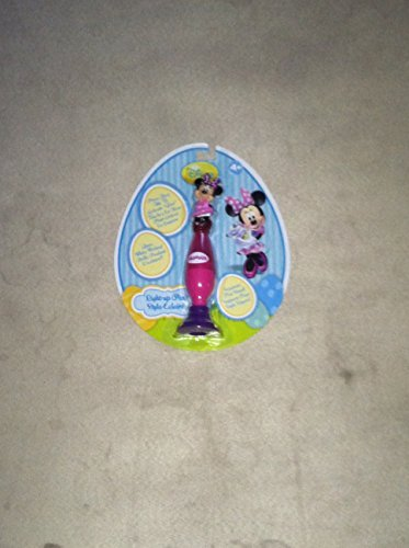 disney minnie mouse light up pen /& stand glows while writing new//box Blip Toys