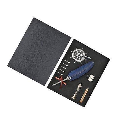 FuM - Kit de caligrafía antigua, retro, caligrafía, pluma de ...