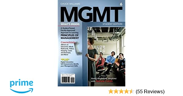 Mgmt 6 with career transitions printed access card new engaging mgmt 6 with career transitions printed access card new engaging titles from 4ltr press chuck williams 9781285091075 amazon books fandeluxe Gallery