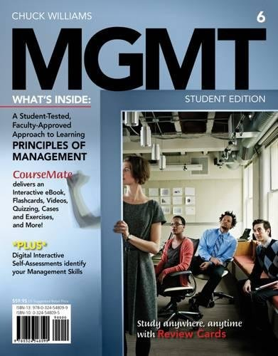 MGMT 6 (with Career Transitions Printed Access Card) (New, Engaging Titles from 4LTR - Houston Spc