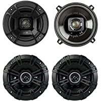 Polk Audio 5.25 300W Car/Marine ATV Speakers, Pair + 5.25 200W Speakers, Pair