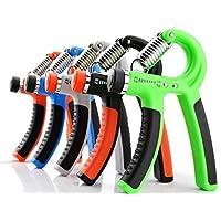ZOZO 10-40 Kg Adjustable Heavy Grips Hand Gripper Fitness Hand Exerciser Grip Wrist Forearm Strength Training Gym Power-parent, 5, Color