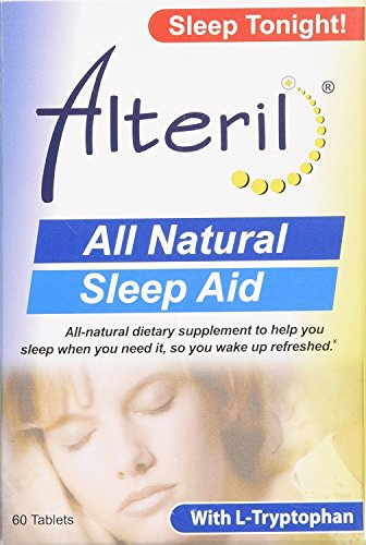 Alteril Sleep Aid, 60-Count Box (Wellness Nutrition Sleep Aid)